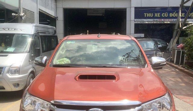 Bán xe Toyota Hilux 3.0G 4x4 MT 2016, xe bán tại hãng Western Ford có bảo hành