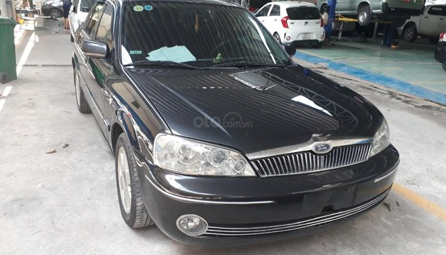 Bán Ford Laser GHIA 1.8 đời 2004, màu xám (ghi), nhập khẩu nguyên chiếc