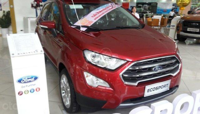 Bán Ford Ecosport 2019 đủ màu, ưu đãi tiền mặt + Phụ kiện chính hãng