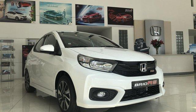 Cần bán xe Honda Brio RS đời 2019, màu trắng, xe nhập
