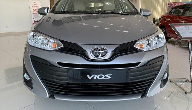Toyota Vios 1.5E CVT 2019 màu xám mới 100% - giao ngay