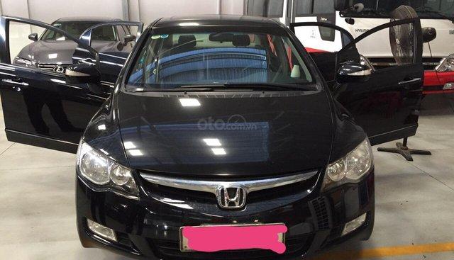 Bán ô tô Honda Civic 2.0 AT năm sản xuất 2008, màu đen