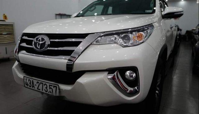 Bán Toyota Fortuner 4x2 AT 2017, màu trắng, nhập khẩu