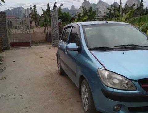 Bán Hyundai Getz đời 2010, màu xanh lam, xe nhập