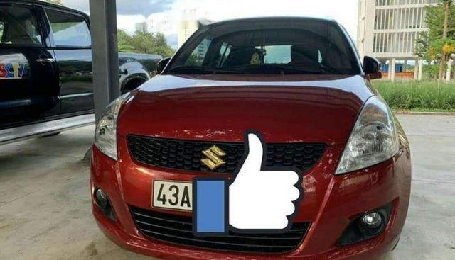 Bán xe Suzuki Swift năm 2017, màu đỏ, xe nhập