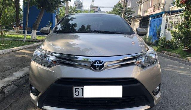 Cần bán xe Toyota Vios AT model 2018, màu vàng cát