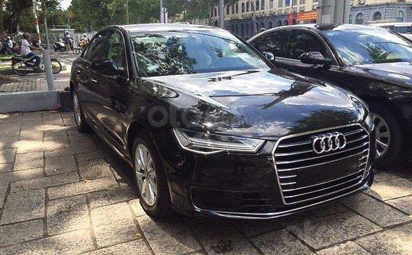 Bán Audi A6 1.8 TFSI năm sản xuất 2017, màu đen, nhập khẩu