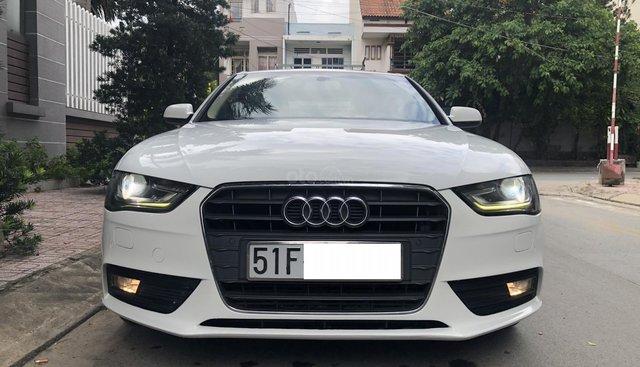 Bán ô tô Audi A4 AT model 2015, màu trắng, nhập khẩu Đức