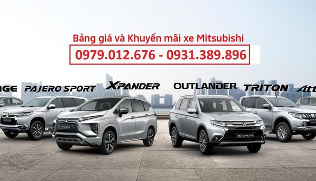 Giá xe Mitsubishi Triton 2019 tại Nghệ An - Hà Tĩnh, hotline 0979.012.676