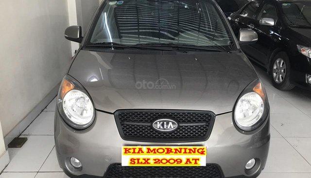 Bán ô tô Kia Morning 1.0 AT Sport SLX đời 2009, màu xám (ghi), xe nhập. Bản full 2 bóng khí