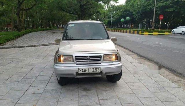 Bán Suzuki Vitara sản xuất năm 2004, màu vàng, số sàn 2 cầu