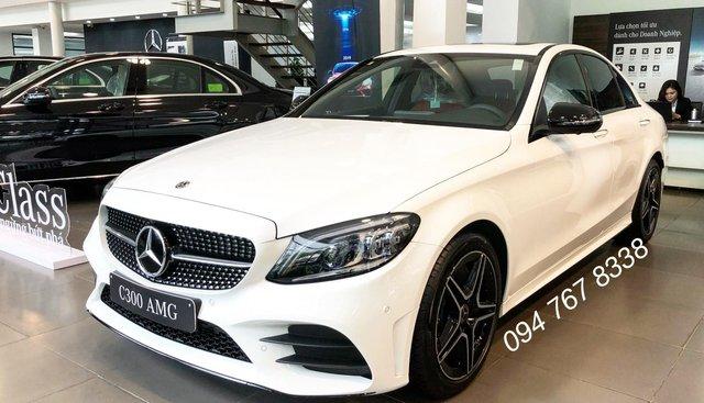 Bán Mercedes C300 AMG 2019. Giao ngay giá ưu đãi lớn nhất, mua xe chỉ với 399tr
