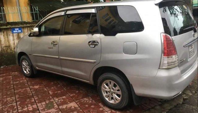 Bán xe Toyota Innova sản xuất năm 2009, màu bạc, giá tốt