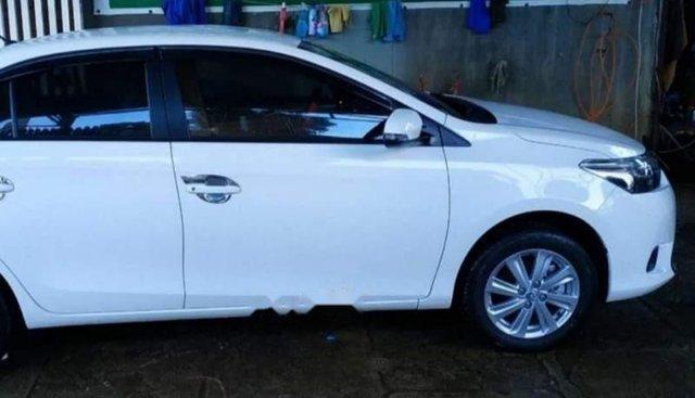 Cần bán Toyota Vios G đời 2018, màu trắng, nhập khẩu, xe gia đình