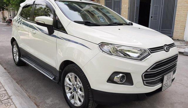 Bán xe Ford EcoSport Titanium 1.5 AT đời 2015, màu trắng, 495 triệu