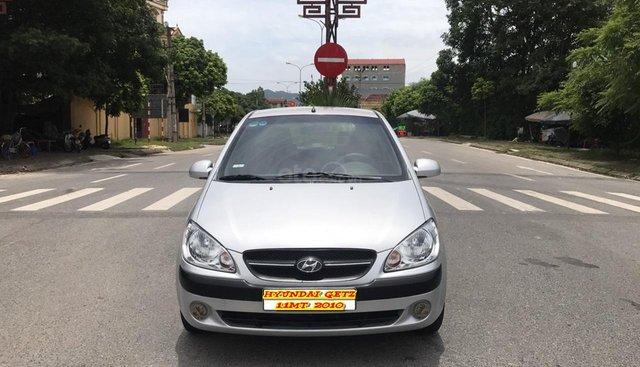 Cần bán xe Hyundai Getz 1.1MT năm sản xuất 2010, màu bạc, xe nhập. Nói không với lỗi nhỏ