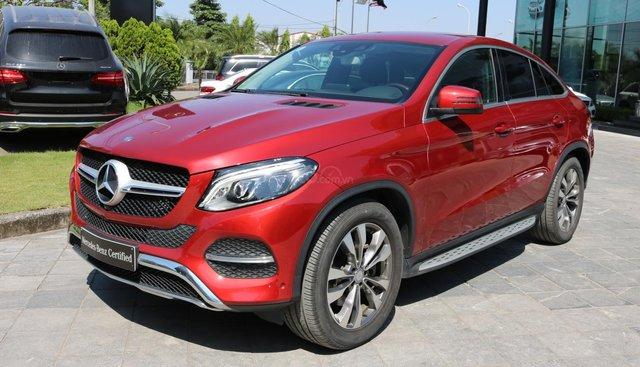 Bán ô tô Mercedes GLE400 Coupe, màu đỏ, xe nhập