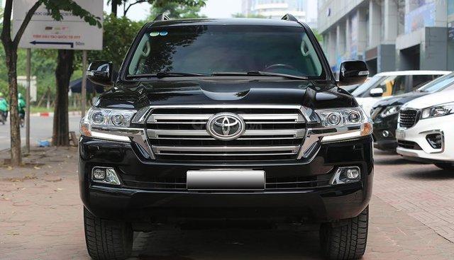 Cần bán Toyota Land Cruiser VX 4.6L sản xuất năm 2016, model 2017 màu đen, nhập khẩu