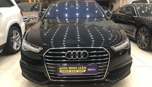 Bán xe Audi A6 năm sản xuất 2018, màu đen, xe nhập