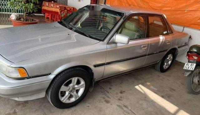 Bán Toyota Camry sản xuất năm 1990, màu bạc, xe nhập
