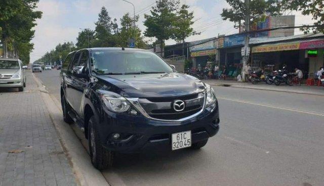 Bán Mazda BT 50 đời 2016, màu xanh lam, nhập khẩu