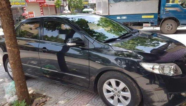 Cần bán xe Toyota Corolla Altis đời 2009, màu đen, xe đẹp