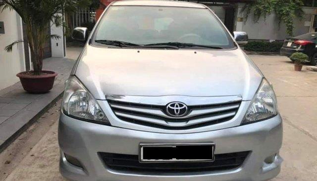 Bán chiếc xe Innova G xin đời 2010, màu bạc, xe không một ngày dịch vụ, không đâm va