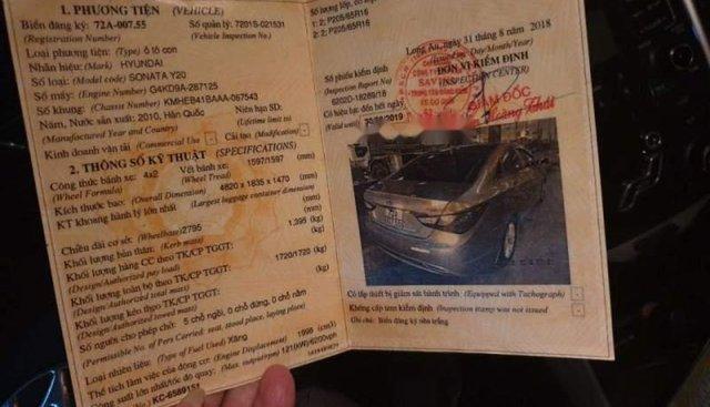 Bán xe Hyundai Sonata 2010, nhập khẩu, xe êm, ít hao xăng