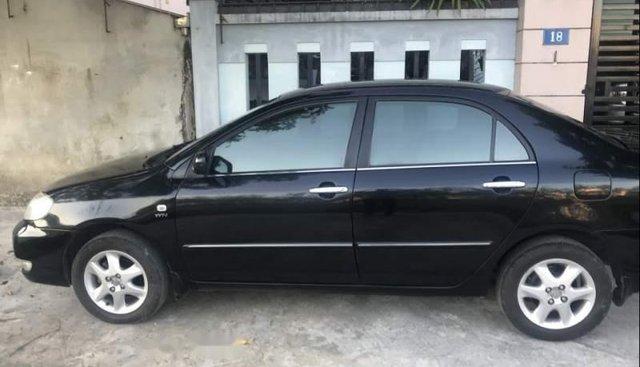 Chính chủ bán lại xe Toyota Corolla altis đời 2007, màu đen, nhập khẩu