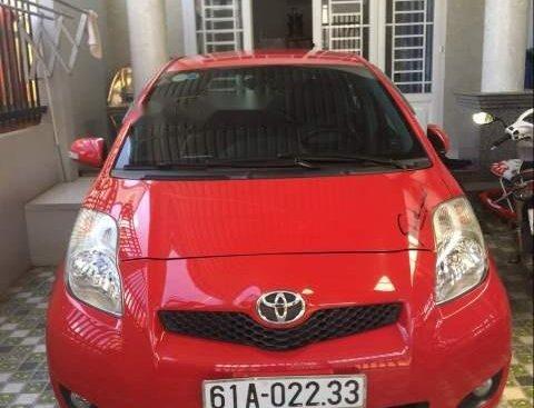 Bán ô tô Toyota Yaris năm 2011, màu đỏ, nhập khẩu, xe đẹp zin
