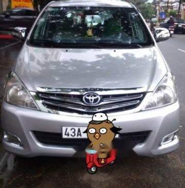 Bán xe Toyota Innova đời 2009, màu bạc, nhập khẩu nguyên chiếc