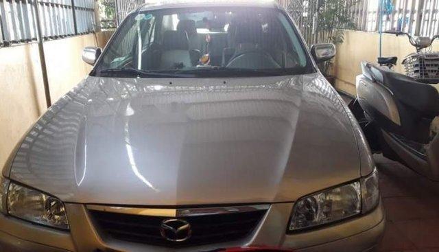 Bán Mazda 626 năm sản xuất 2002, màu bạc, xe còn đẹp, máy khỏe, không hư hỏng