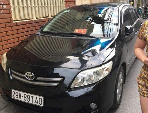 Bán xe Corolla Altis số tự động, đăng ký cuối 2008