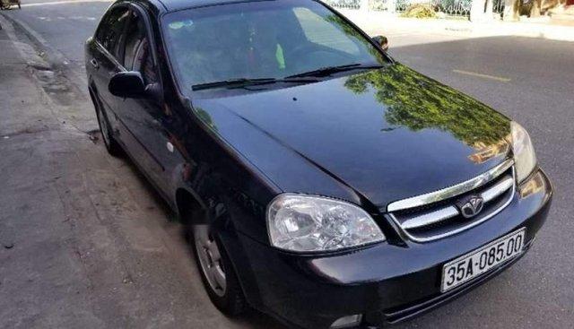 Bán Daewoo Lacetti sản xuất năm 2009, màu đen, xe nhập, xe đẹp