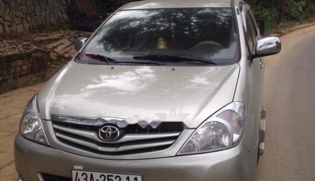 Cần bán Toyota Innova G năm 2007, màu bạc, bảo dưỡng thường xuyên, máy móc êm ái