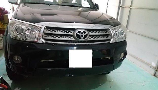 Bán Toyota Fortuner 2010, màu đen