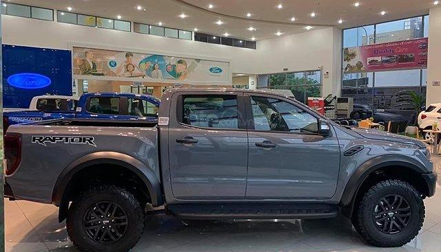 Cần bán Ford Ranger Raptor đời 2019, màu xám, nhập khẩu nguyên chiếc