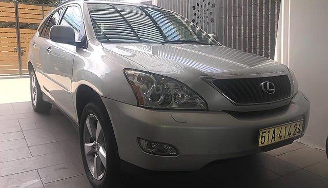 Cần bán lại xe Lexus RX 2008 sản xuất năm 2007, màu bạc, nhập khẩu