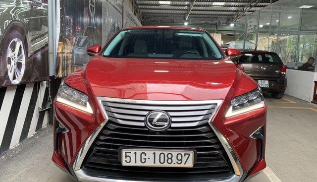 Bán Lexus RX350 2017, màu đỏ, nhập khẩu nguyên chiếc