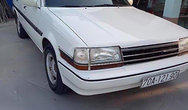 Bán Toyota Corona GL 1.6 năm 1990, màu trắng, xe nhập