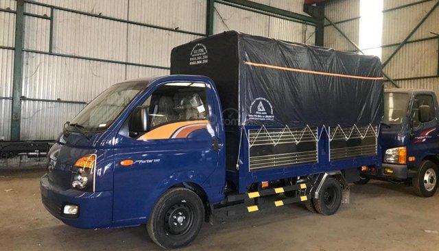 Cần bán Hyundai Porter H150 sản xuất 2018, màu xanh lam, 360 triệu