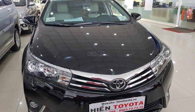 Bán Toyota Corolla altis 1.8G đời 2014, màu đen, 590tr
