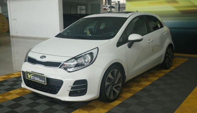 Bán xe Kia Rio hatback 1.4AT đời 2015, màu trắng, nhập khẩu, giá chỉ 488 triệu