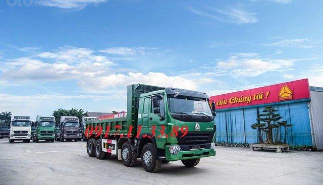 Bán xe ben Howo 3 chân - 4 chân V7G sản xuất 2019 Euro 5, xe nhập khẩu 100%