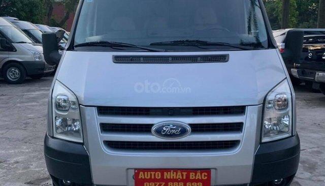 Bán Ford Transit van 6 chỗ, 900kg sản xuất 2009, màu bạc