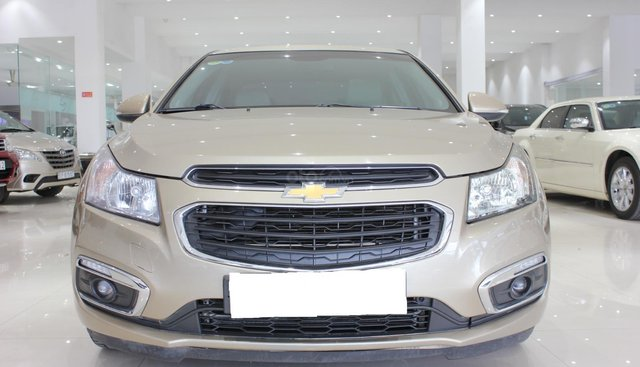 Cần bán Chevrolet Cruze LTZ đời 2016, màu vàng, giá chỉ 470 triệu
