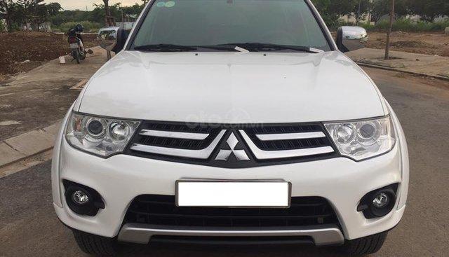 Cần bán xe Mitsubishi Pajero sport 3.0AT 2017, màu trắng