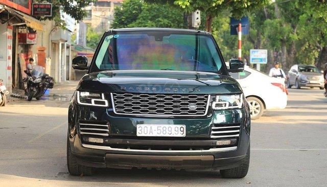Bán LandRover Range Rover HSE 3.0 độ Autobiography + mặt nạ sản xuất năm 2013, màu xanh lục, xe nhập