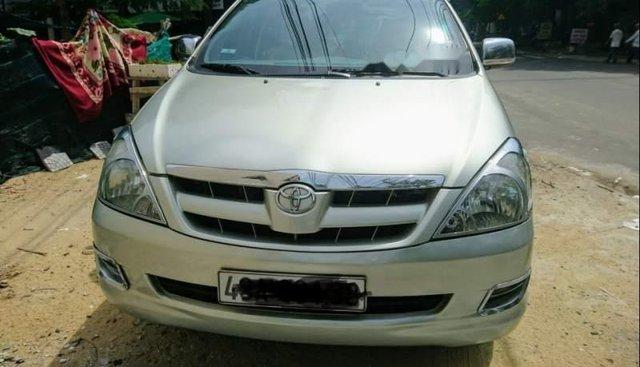 Bán Toyota Innova sản xuất năm 2007, màu bạc, xe nhập, chính chủ