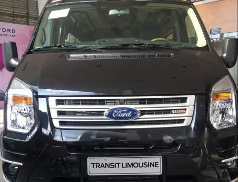 Bán xe Ford Transit Limousin năm sản xuất 2018, màu đen
